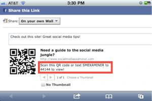 qr y Facebook