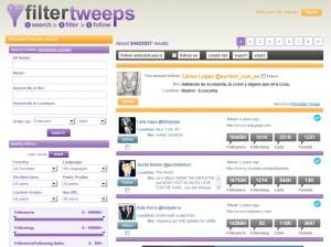 filtertweeps