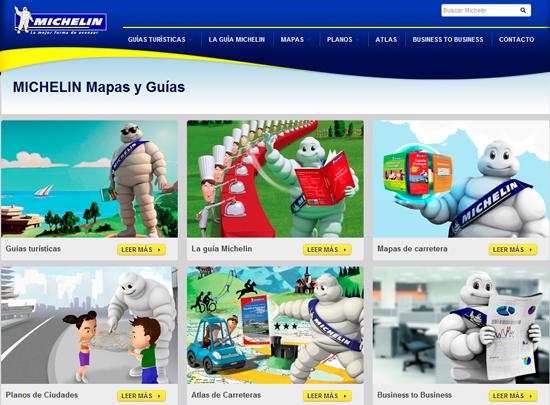 Michelin mapas y guias