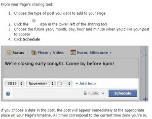 Facebook-schedule-post