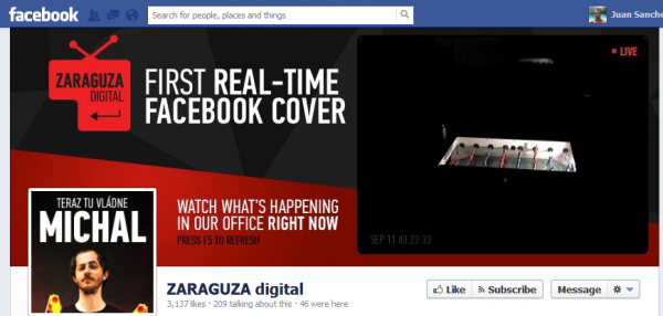 real time cover facebook