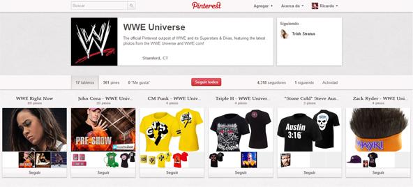 WWE en Pinterest