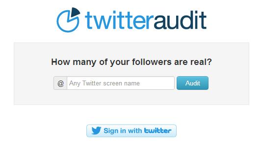 TwitterAudit